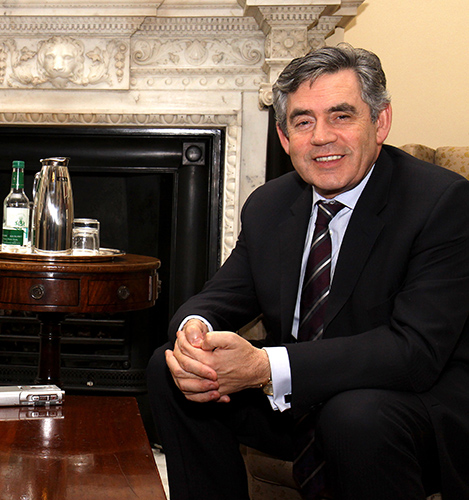 Mark Allan – Political Images – Gordon Brown