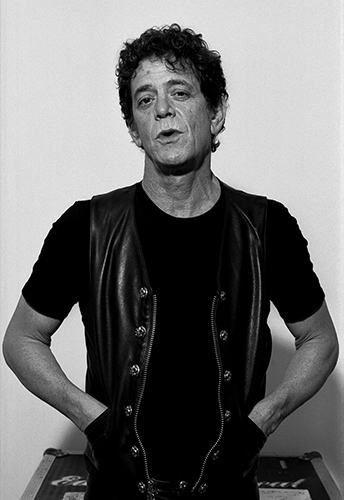 Lou Reed backstage in Warsaw PolandPhoto by Mark Allan