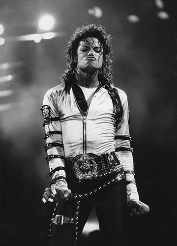 Michael Jackson's 'BAD' Tour Wembley Arena on 16 July 1988Photo by Mark Allan