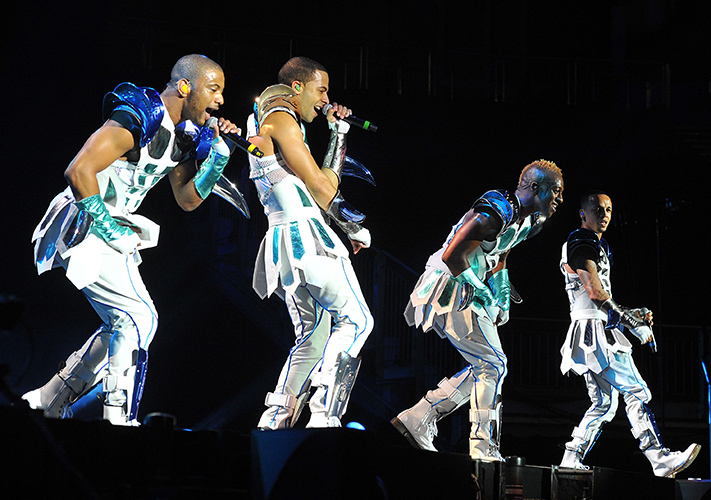 JB Gill, Marvin Humes, Ortoise Williams, Aston Merrygold