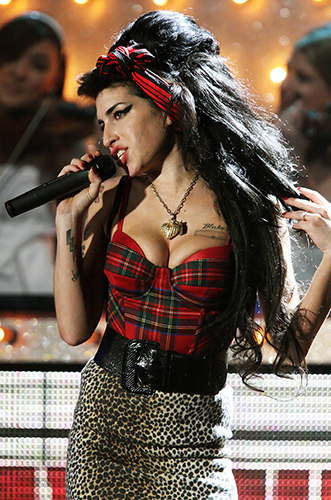 Amy Winehouse at the 2007 Brit Awards at Earls Court LondonPhoto by Mark Allan
