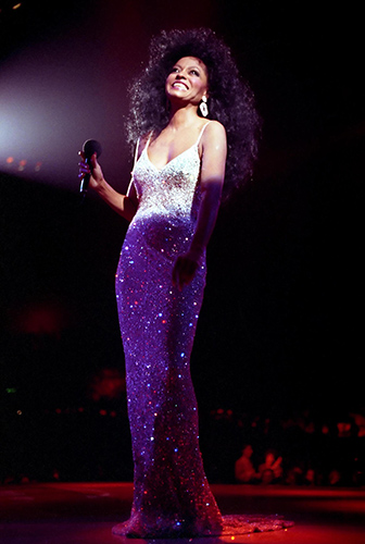 Diana Ross at Wembley ArenaPhoto by Mark Allan