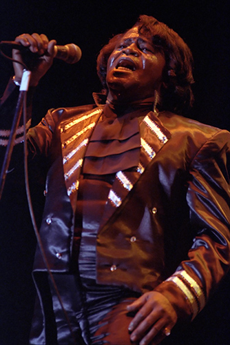 James Brown live at Picetts LockPhoto by Mark Allan