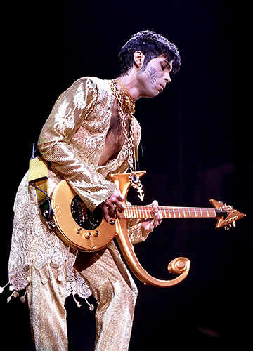 Prince at Wembley ArenaPhoto by Mark Allan