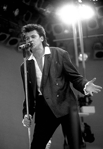 Paul Young plays at Live Aid on 13 July 1985Photo by Mark Allan