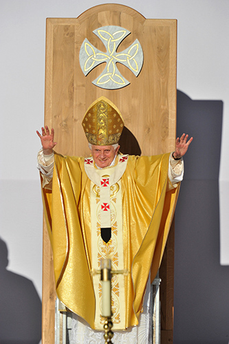Pope Benedict XVI Open Air Mass