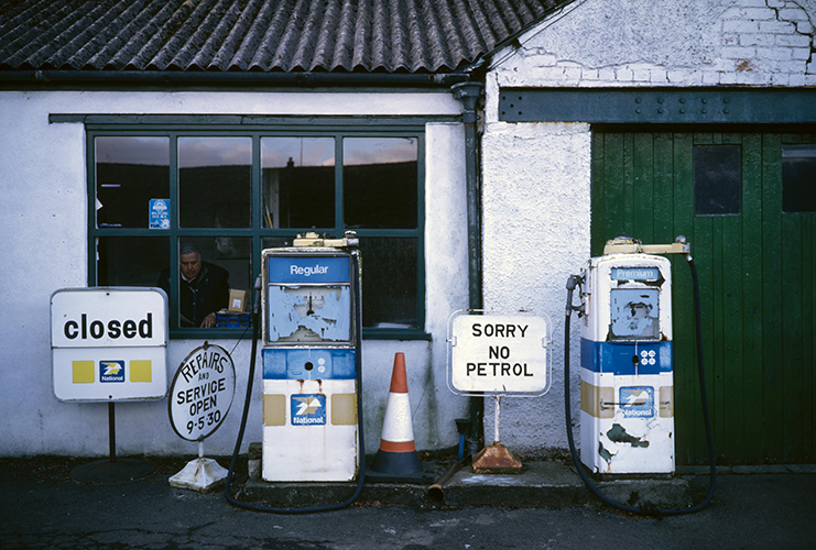 Cumbrian Petrol StationPhoto by Mark Allan